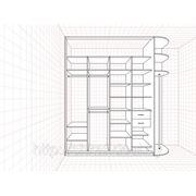 Внутреннее наполнение шкафа-купе вн-27 фото