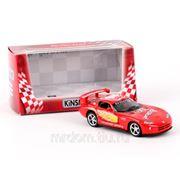 Машина 1:36 dodge viper gtsr kt5039wf металл инерционная в коробке 16*8,5*7,5см тм kinsmart (835747) фото