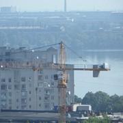Монтаж башенного крана Liebherr 154 EC фото