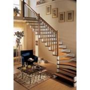 Лестницы маршевые фото