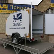 Прицеп автомобильный легковой Универсал-люкс 16 фото