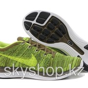 Кроссовки Nike Flyknit Lunar1+ Brown Green 40-44 Код Lunar06 фото