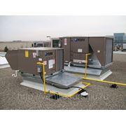 Крышные кондиционеры руф–топы со встроенной газовой горелкой фото