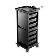 Парикмахерская тележка MODUS Ikeart черная фото