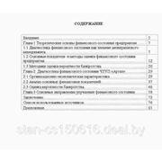 Основные направления улучшения финансового состояния организации ЧТУП «Артал» фото