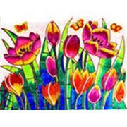 Витражные краски для детей фото