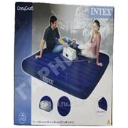 Двуспальный надувной матрас Intex(без насоса) фото