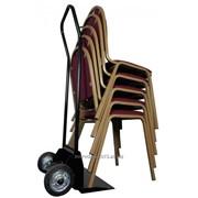 Тележка для перевозки банкетных стульев фото