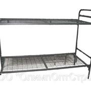 Кровати двухъярусные металлические фото