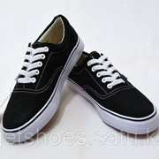 Кеды Vans Canvas Era черные (35-45), кроссовки, сникеры, шузы фото