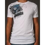 Именная мужская футболка Xtreme Couture Last Rites с черепом фото
