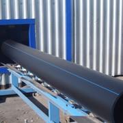 Трубы полиэтиленовые для водо и газоснабжения HDPE100 фото