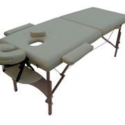 Массажный стол из красного бука SM-1 EKONOM, выдерживает до 204 кг фото