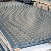 Листы алюминиевые рифлёные сплав АМГ2НР фото