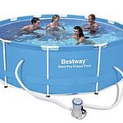 Каркасный бассейн BestWay, 366х100см, 9150л, фильтр-насос (BestWay) фото