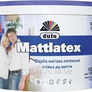 Краска Dufa Mattlatex D100, 10л фото