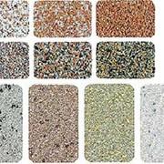 Посыпка фракционированная для рубероида различных цветов и оттенков (светло-, темно-розовая, коричневая, белая, серая, зеленая) фото