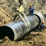 Прокладка газопровода фото