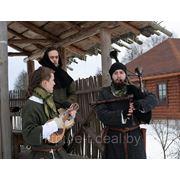 Средневековые музыканты фото