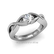 Кольца с бриллиантами D42636-1 фото