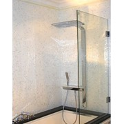 Стеклянная шторка для ванны фото