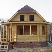 Коттедж деревянный ПДС-1-56 фото