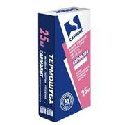 """Смесь штукатурная полимерминеральная защитно-отделочная «Сармалит""""-короед белая, фактура «короед» с зерном 2, фото"""