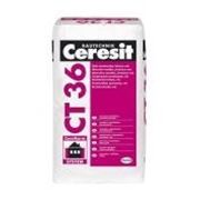Защитно-отделочная штукатурка Ceresit СТ 36