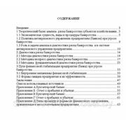 Курсовая анализ риска банкротства предприятий на примере КСУП «Полесское»