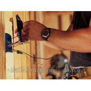 Установка накладной электроточки (розетка, выключатель) фото