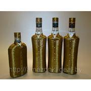 Украшение бутылок а-ля Офицер фото