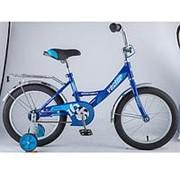 Детский велосипед Novatrack 16 Vector 2018 синий фото