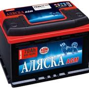 Аккумуляторная батарея Аляска Malamut AGM 70 Ач фото