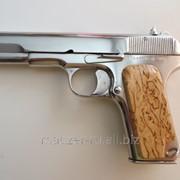 Сигнальный пистолет ТТ (ТТ-С) никелированный (подарочный) фото