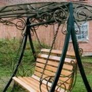 Дачная кованая мебель фото