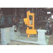 Установка электродуговой автоматической наплавки под слоем флюса и в защитных газах деталей типа вал фото
