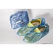 Бахилы медицинские стандарт прочные в индивидуальной упаковке ПНД 9 мкм 400х150 мм фото