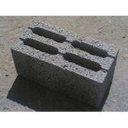 Блок керамзитобетонный 190х190х390 фото