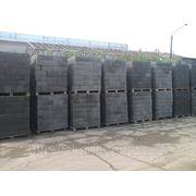 Блок керамзитобетонный на поддоне в Москве фото
