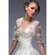 Болеро свадебное фото