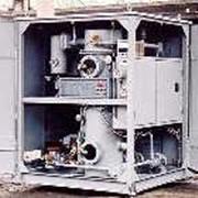 Установка для обработки трансформаторного масла УВМ-6. фото