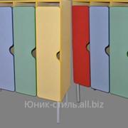 Шкаф 4-х секц м-89М-233-4 размер 112х42х130 фото