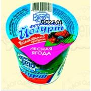 Йогурт фруктовый молочный полужирный фото