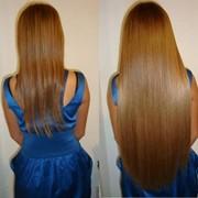 Наращивание натуральных волос по немецкой технологии(ленточное)