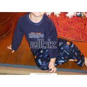 Пижама детская трикотажная фото