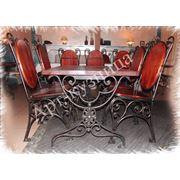 Стол кованый кованая мебель мебель для дома мебель для ресторана фото