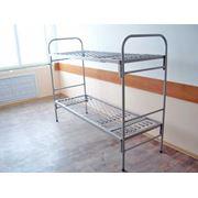 Кровати двухъярусные железные Краснодар фото