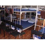 Мебель для общежитий и казарм. фото