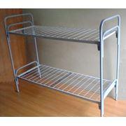 Металлические Кровать двухъярусная фото