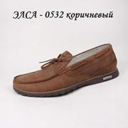 Туфли мужские Элса 0532 коричневый фото
